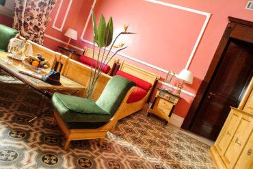 Dettaglio di una suite - Hotel Albani Firenze