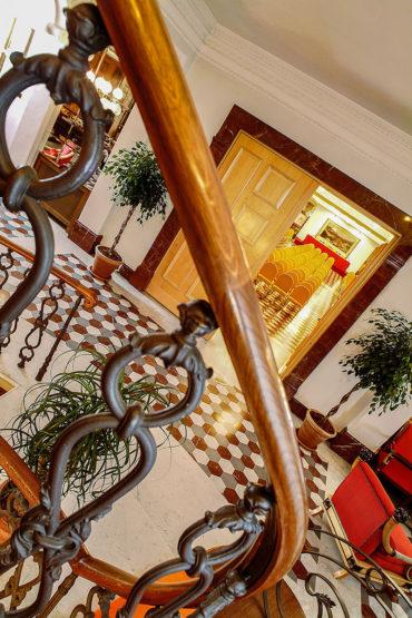 Dettaglio Foyer Congressi - Hotel Albani Firenze