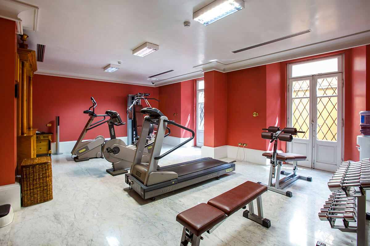 Fitness Room - Hotel Albani Firenze