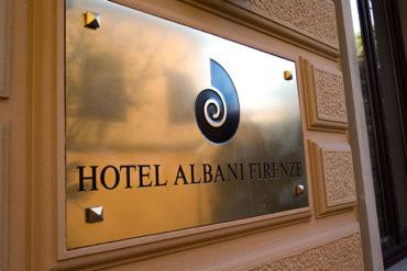 Targa Esterna - Hotel Albani Firenze