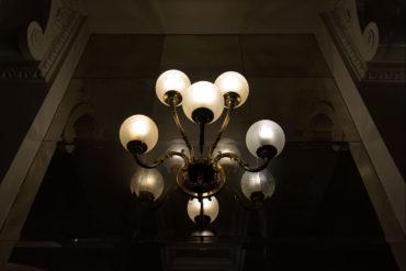 Lampadario Hall - Hotel Albani Firenze