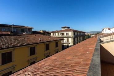 Vista da Balcone - Hotel Albani Firenze