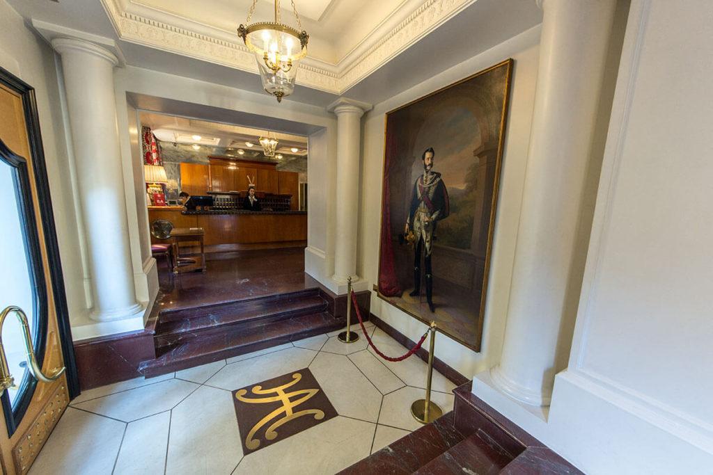 Entrance - Hotel Albani Firenze
