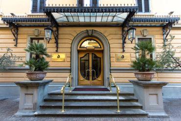 Porta d'Ingresso - Hotel Albani Firenze