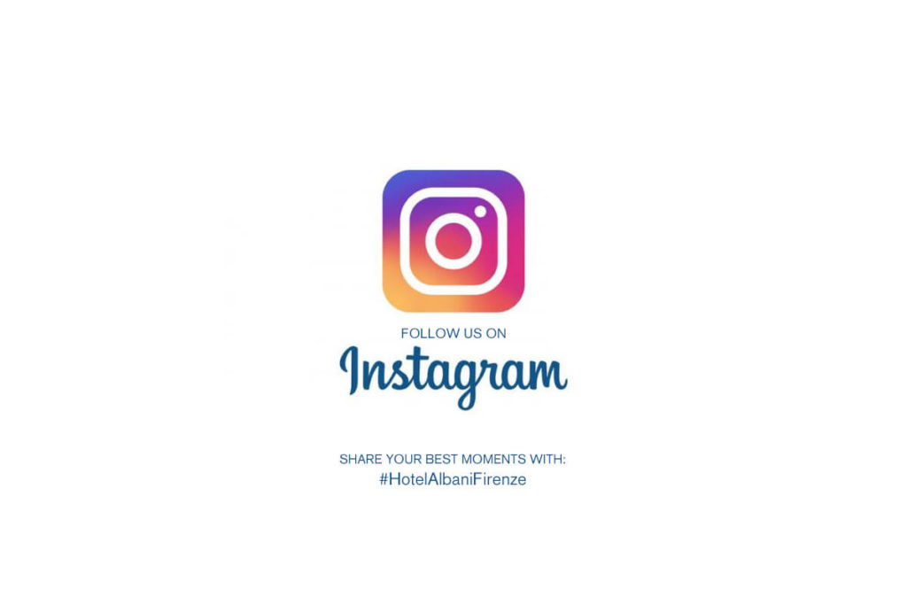 Seguici su Instagram - @HotelAlbaniFIrenze