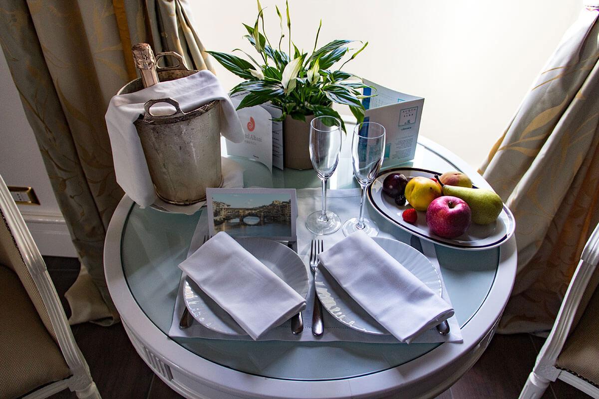 Accoglienza speciale - Hotel Albani FIrenze