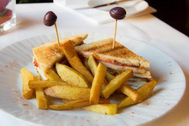 Club Sandwich del Ristorante Bernini - Hotel Albani Firenze