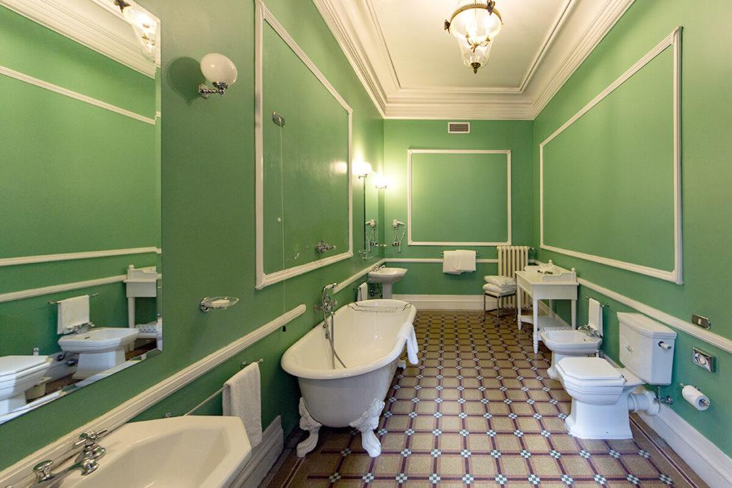 Bagno Primi Novecento della Suite - Hotel Albani Firenze