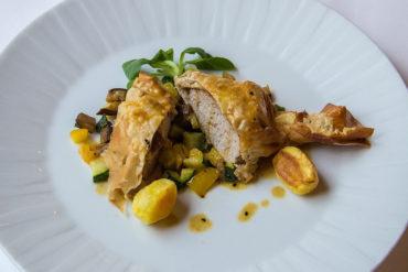 Pollo dal menu del Ristorante Bernini - Hotel Albani Firenze